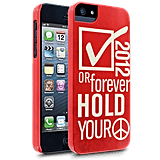 The Election Hold Peace Case ($25) is a gentle reminder to cast a vote this November, or forever hold your peace.