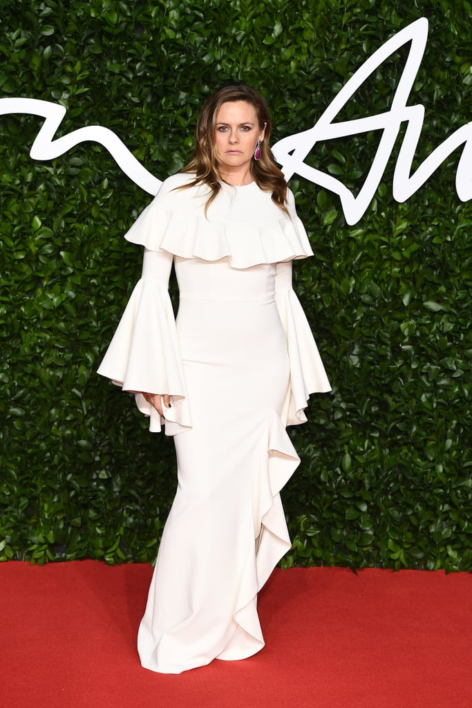 Alicia Silverstone at the British Fashion Awards 2019