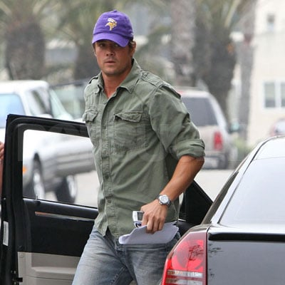 Josh Duhamel Out in LAe