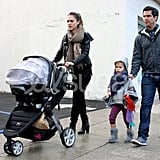 Jessica Alba and Haven: Britax B-Ready
