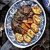 Beef Brisket With Smashed Potatoes and Carrots