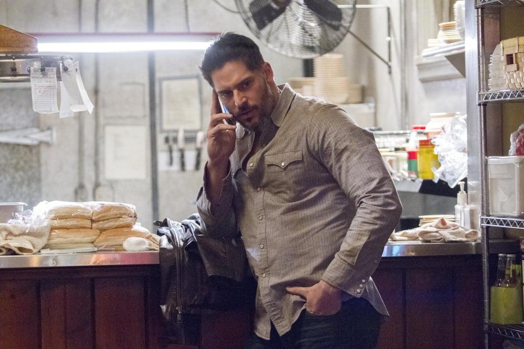 Joe Manganiello as Alcide.