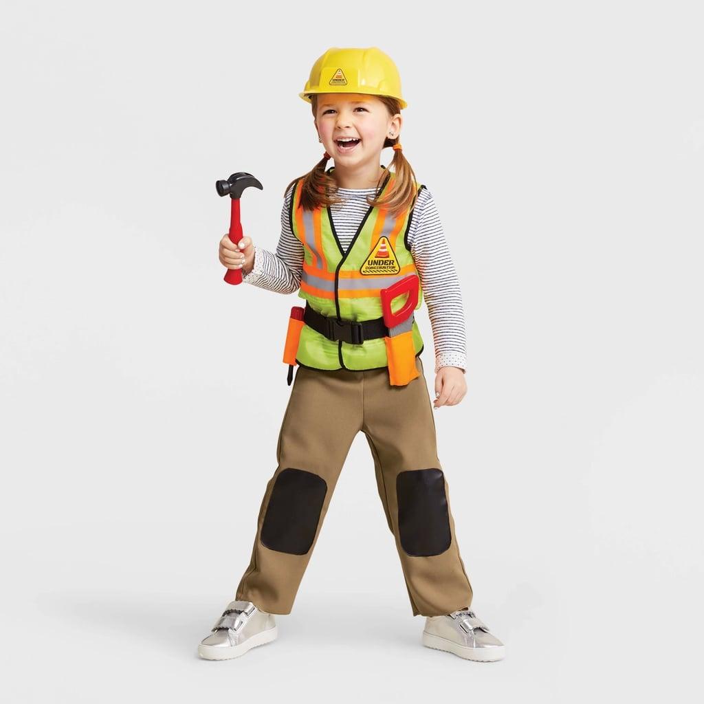 Toddler Construction Worker Halloween Costume