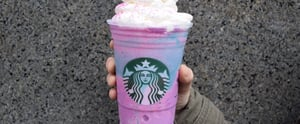 The Extreme Way Starbucks Employees Are Celebrating the Unicorn Frappuccino