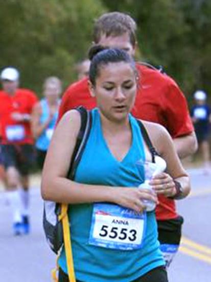Mom Pumps Breast Milk While Running a Half-Marathon