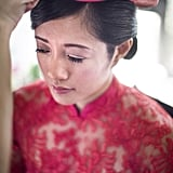 This Exquisite Vietnamese Wedding Is Like a Pink-and-Gold Garden Wonderland