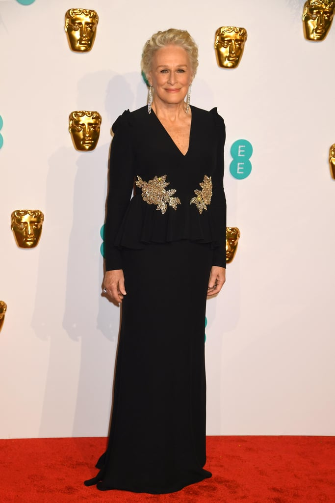 Glenn Close at the 2019 BAFTA Awards