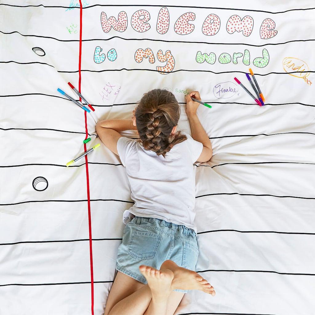 Washable Doodle Bedding