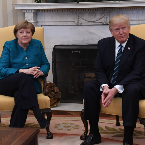 Donald Trump Refuses to Shake Angela Merkel's Hand