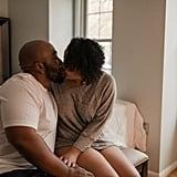 Couples Boudoir Home Photo Shoot