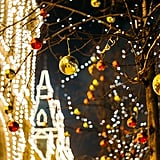 Drive around your neighborhood to see all the decorations.
