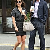 Pippa Middleton heads to her office.