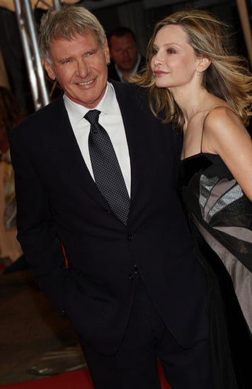 Harisson Ford and Calista Flockart at the Deauville Film Festival