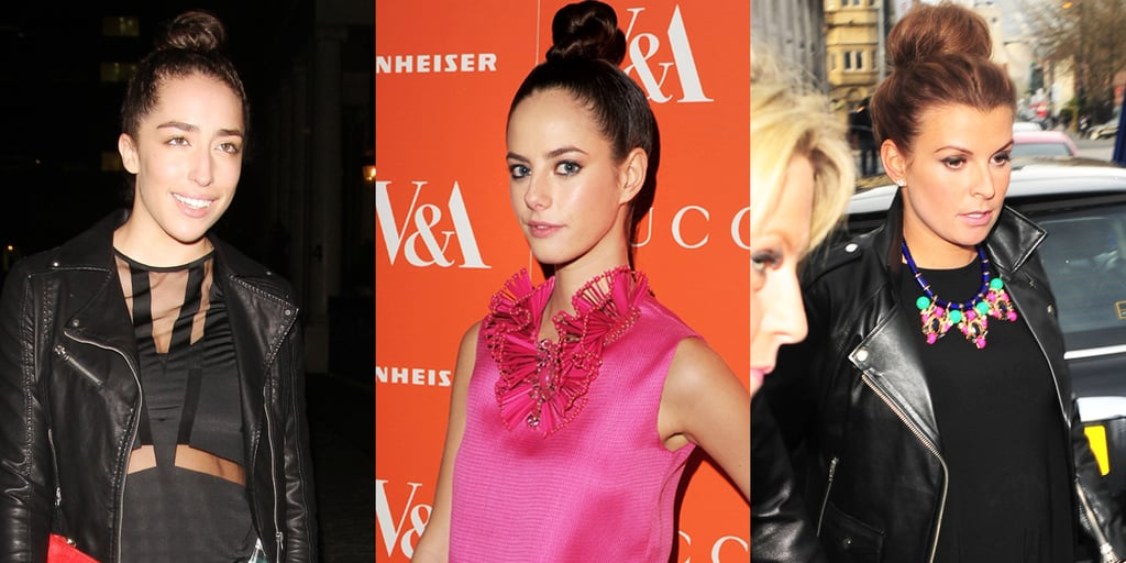 Topknots Rule the Roads in London for Spring