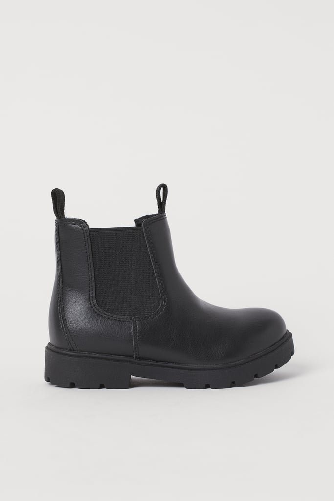 Lined Chelsea Boots