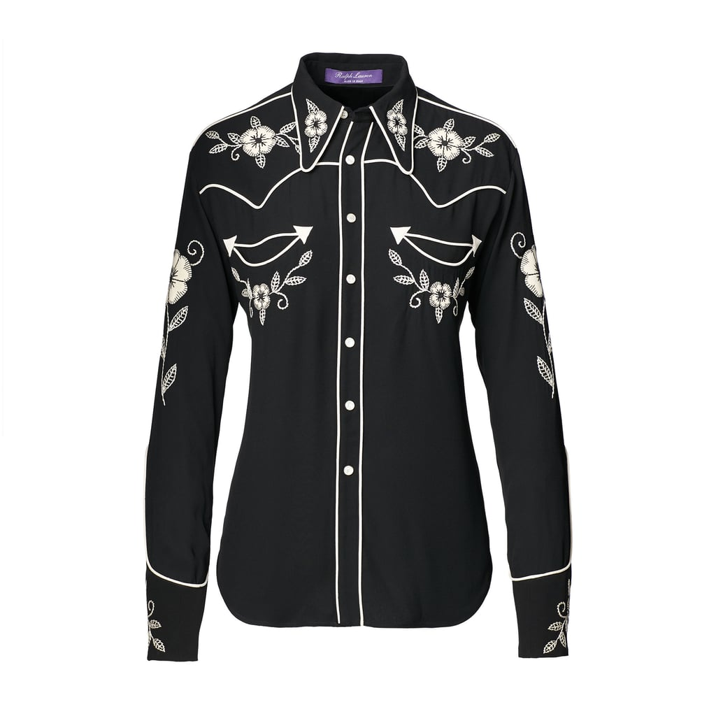 Sydney Embroidered Twill Shirt ($2,490)