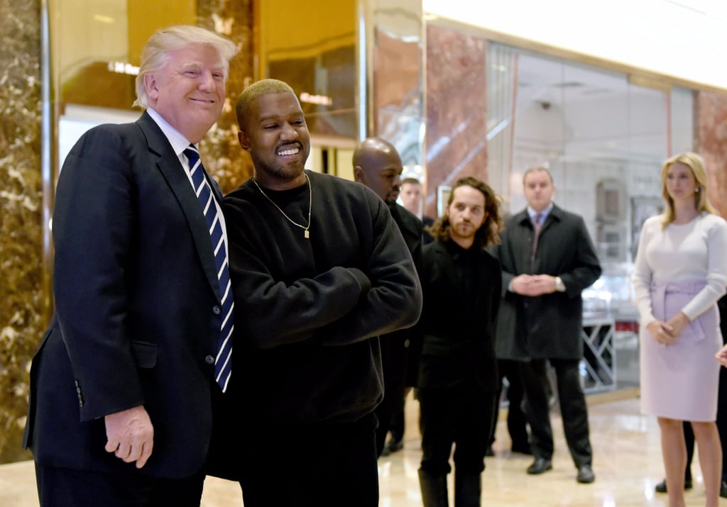 Kanye West Meeting With Donald Trump Pictures December 2016