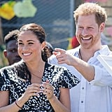 Prince Harry and Meghan Markle on a Royal Tour of South Africa in 2019