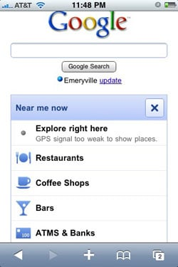 Google Releases Near Me Now Search For Android and iPhone Mobile