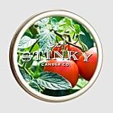 Tomato Leaf Candle