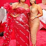 Lizzo and Nessa at the 2019 MTV VMAs