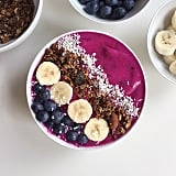 Top your already healthy bowl with blueberries for even more superfood benefits.