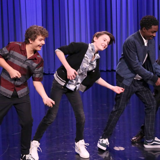 Stranger Things Cast Dance Battle on The Tonight Show