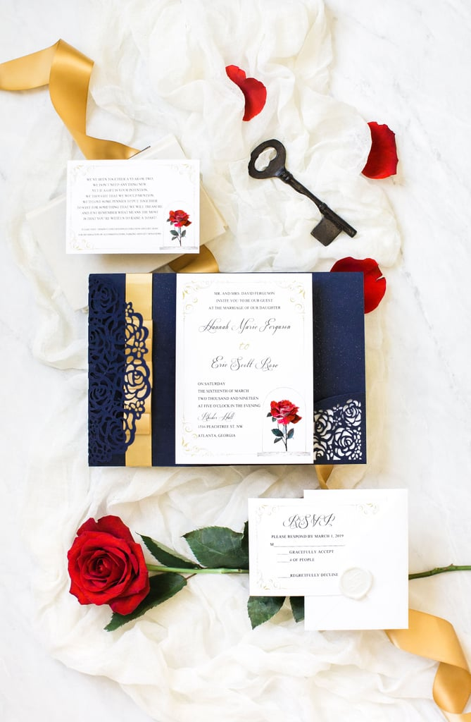 Beauty and the Beast-Inspired Wedding