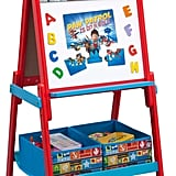 Wooden Activity Easel with Storage