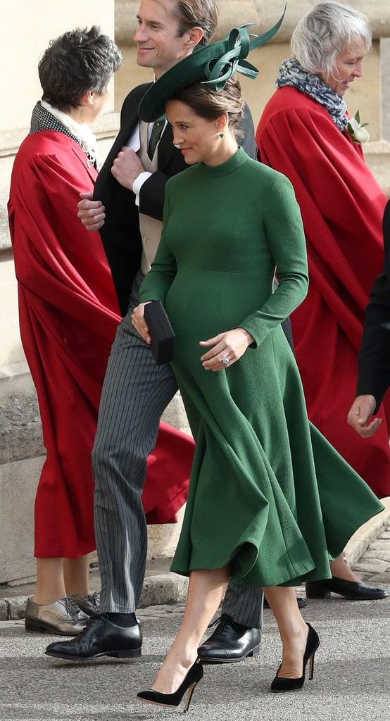 Pippa Middleton James Matthews at Princess Eugenie Wedding