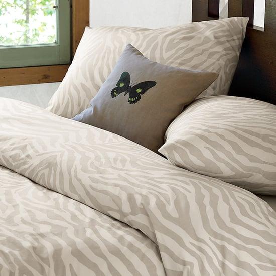 Nice and New: west elm Organic Cotton Safari Print Bedding
