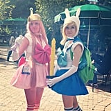 Princess Bubblegum and Fionna From Adventure Time