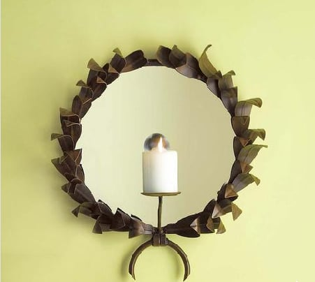 Steal of the Day: Gump's Laurel Wreath Sconce