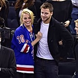 Margot Robbie and Tom Ackerley