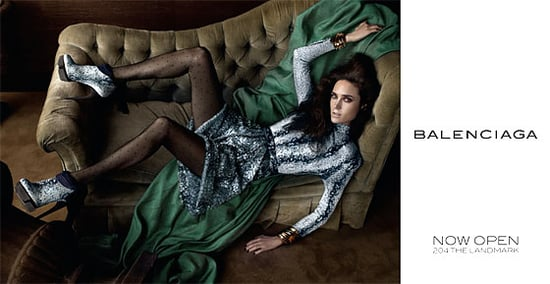 Actress Jennifer Connelly Returns as the Fall 2009 Face For Balenciaga
