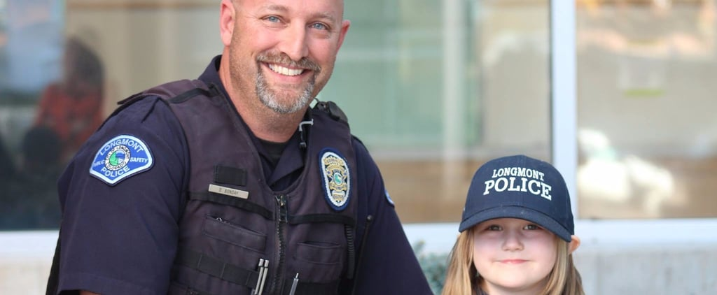 This 4-Year-Old Girl Donated Her Piggy Bank Money to a Police Officer Battling Cancer