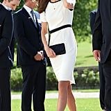 Kate Middleton's White Dresses