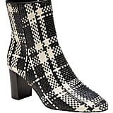 Plaid Ankle Boot