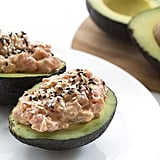 Spicy Tuna-Stuffed Avocado
