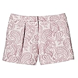 Girls' Blush Floral Pleated Jacquard Short ($20)