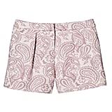 Girls' Blush Floral Pleated Jacquard Short ($20)
