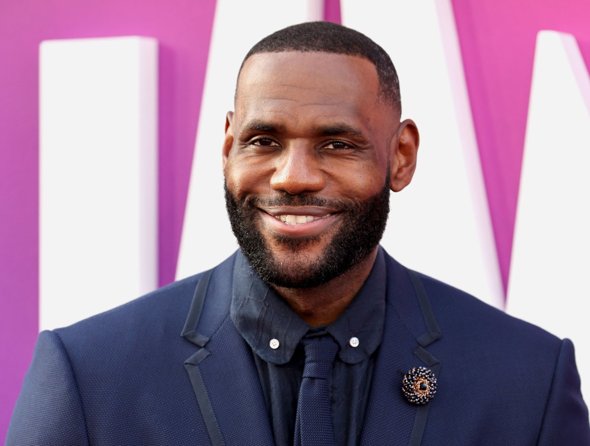LOS ANGELES, CALIFORNIA - JULY 12: LeBron James attends the premiere of Warner Bros