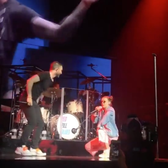 Millie Bobby Brown Singing on Stage With Maroon 5