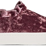 Get frilly with this pair of ultrafemme Opening Ceremony Pink Velvet Didi Ruffle Sneakers ($225).