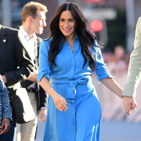 Meghan Markle Wearing Shirt Dresses