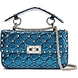 Valentino the Rockstud Spike Quilted Shoulder Bag