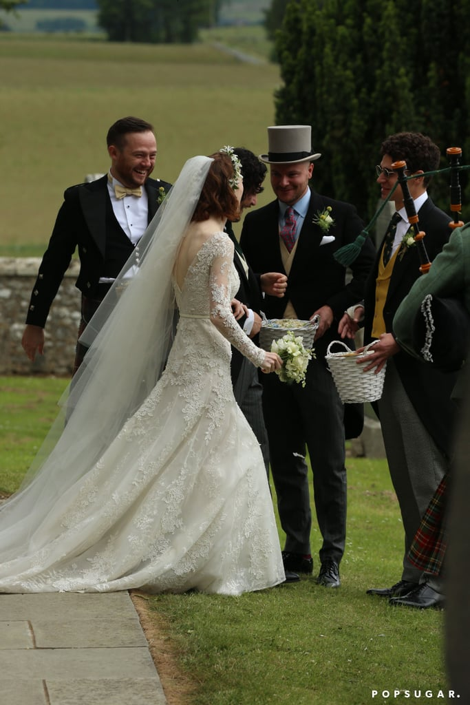 Kit Harington And Rose Leslie Wedding Pictures Popsugar Celebrity