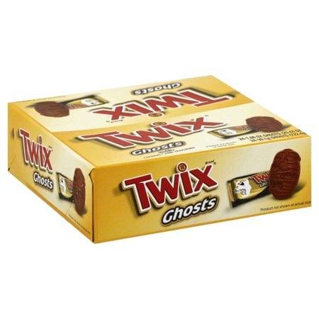 Twix Caramel Halloween Candy Ghost Singles