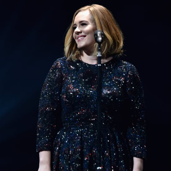 Adele Wearing Burberry During Her 25 Tour
