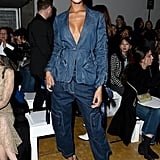 Jourdan Dunn at the Central Saint Martins MA Show